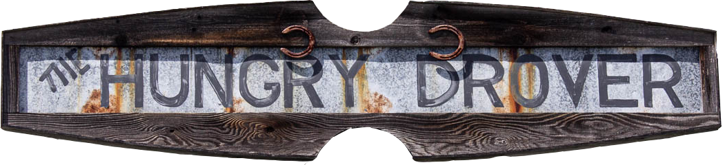 HungryDrover Sign